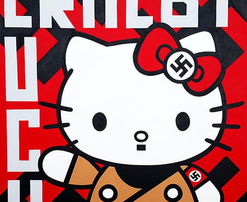 Evil Kitty   Pop Art Zombie